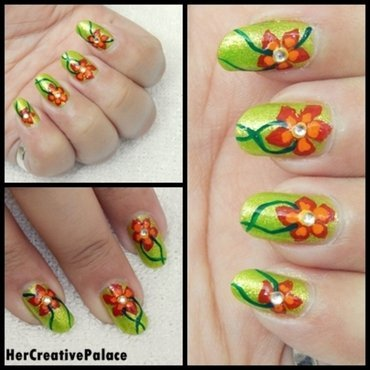 Welcome 20spring 20nail 20art thumb370f