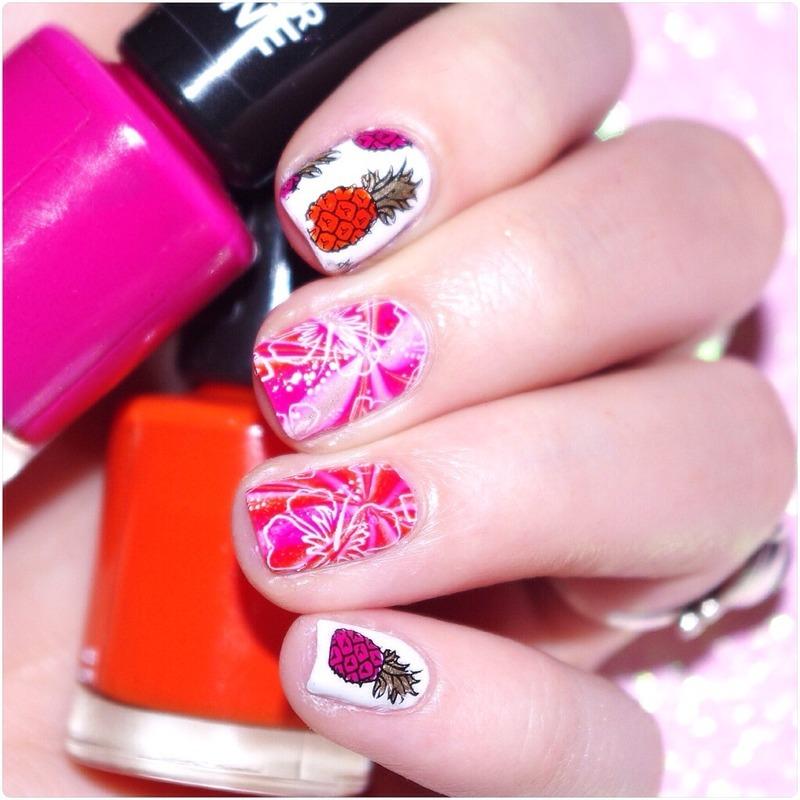 Tropicool  nail art by Bulleuw
