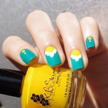 Pop ! nail art by Bulleuw