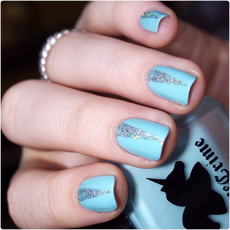 Love Glitter! nail art by Bulleuw
