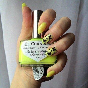 Butterflies  nail art by Varvara