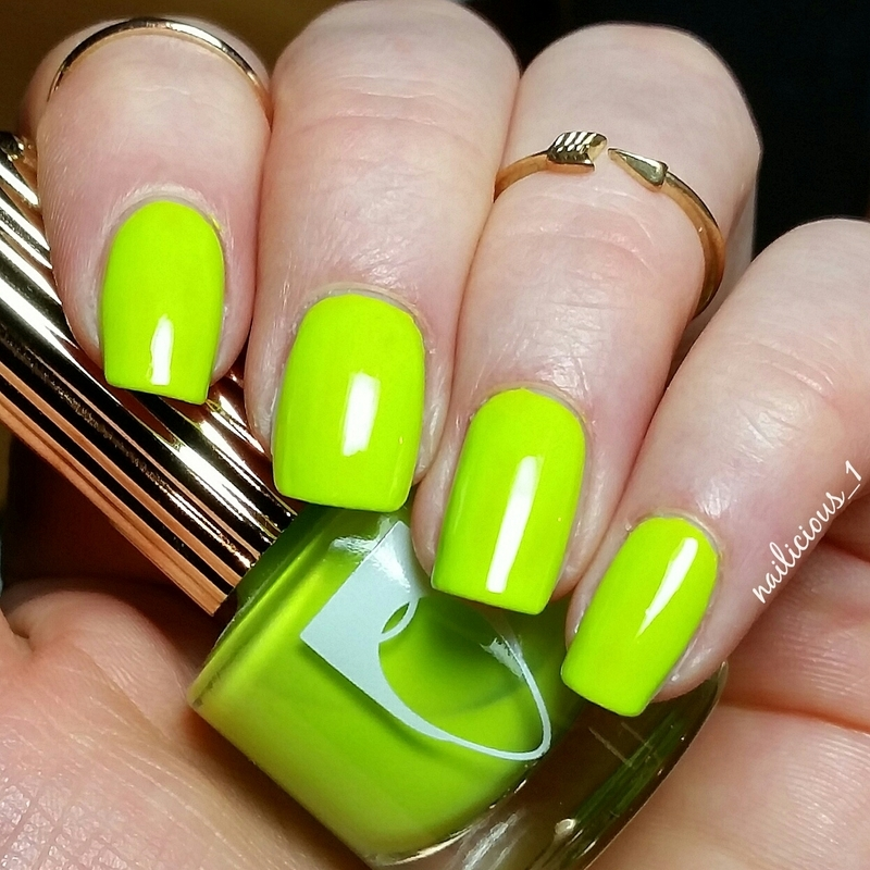 Flossgloss Con Limon Swatch by nailicious_1