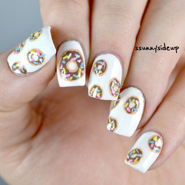 DONUT  ever let me go nail art by ssunnysideup (Sabrina)