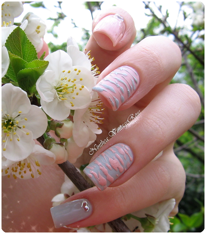 Sugar sugar nail art by Ninthea