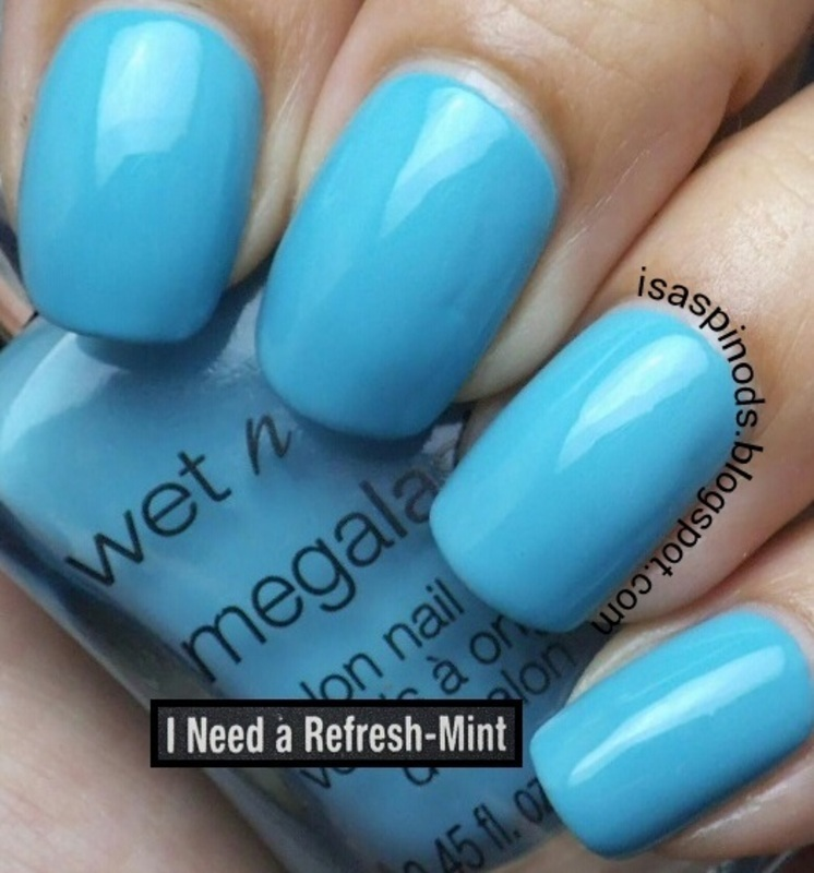 Wet and Wild Megalast I Need A Refresh-mint Swatch by Isabel