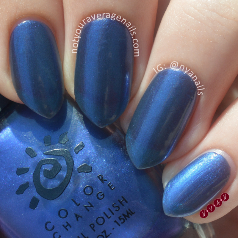 Del Sol Something Blue Swatch by Becca (nyanails)