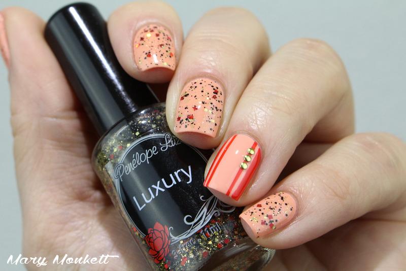Luxury nail art by Mary Monkett