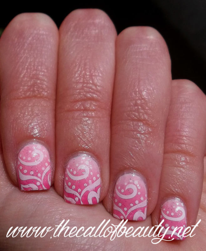 Eos nail art by The Call of Beauty