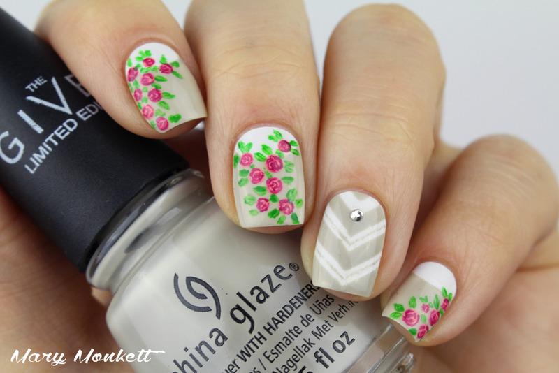 Spring nail art by Mary Monkett