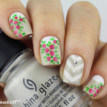 Spring nail art by Mary Monkett