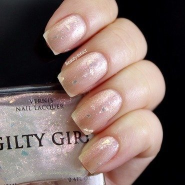 Indie Polish Gilty Girl Swatch by Beauty Intact