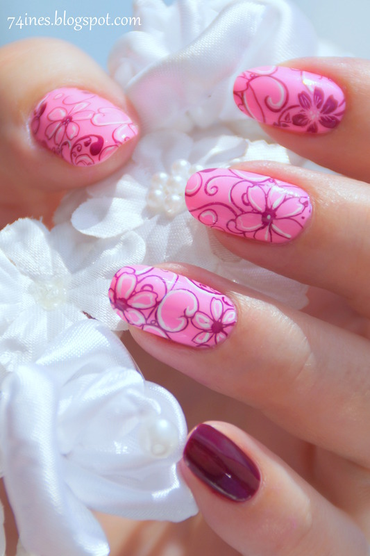 Girls Of Summer  nail art by 74ines