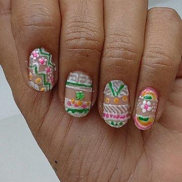 tribal art nail art by nail nakshi