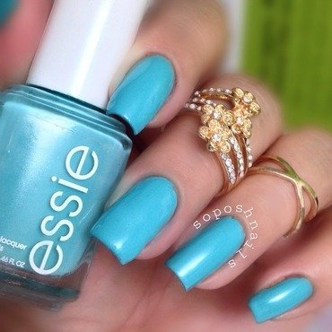 Essie In The Cab-Ana Swatch by Debbie