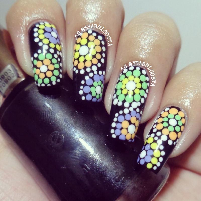 Dotticure  nail art by Katrina Ysabel Costa