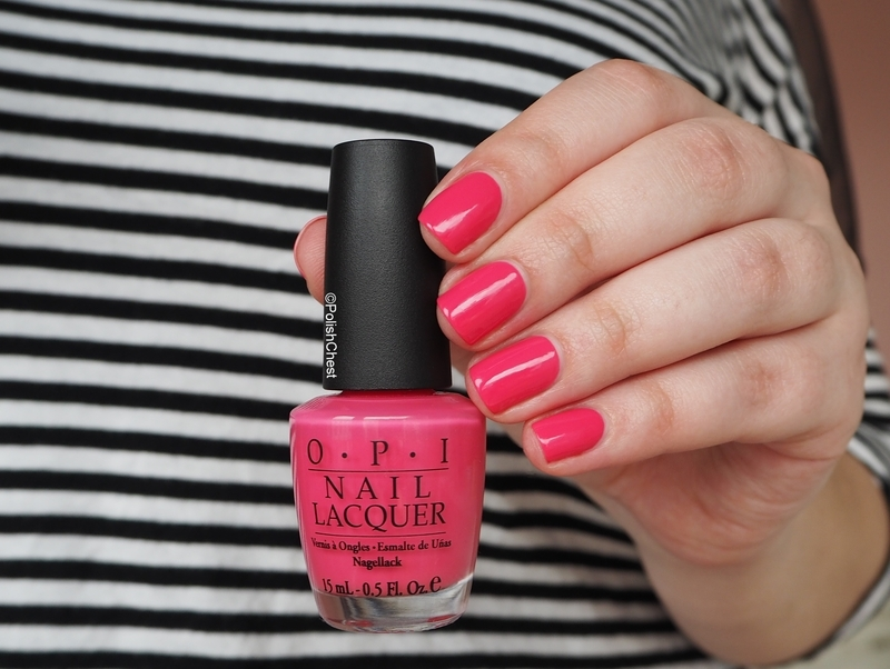 Opi Strawberry Margarita Swatch By Danny Nailpolis Museum Of Nail Art