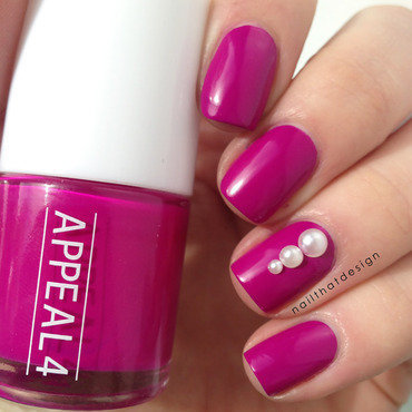 Appeal4 Pink Sunrise Swatch by NailThatDesign