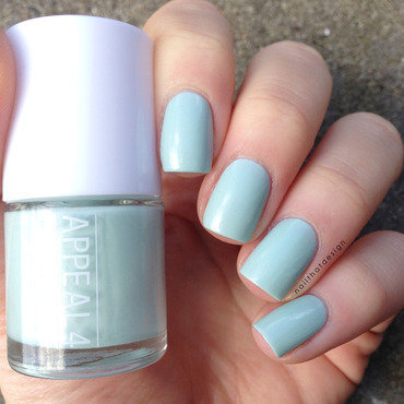 Appeal4 Snow in Summer Swatch by NailThatDesign