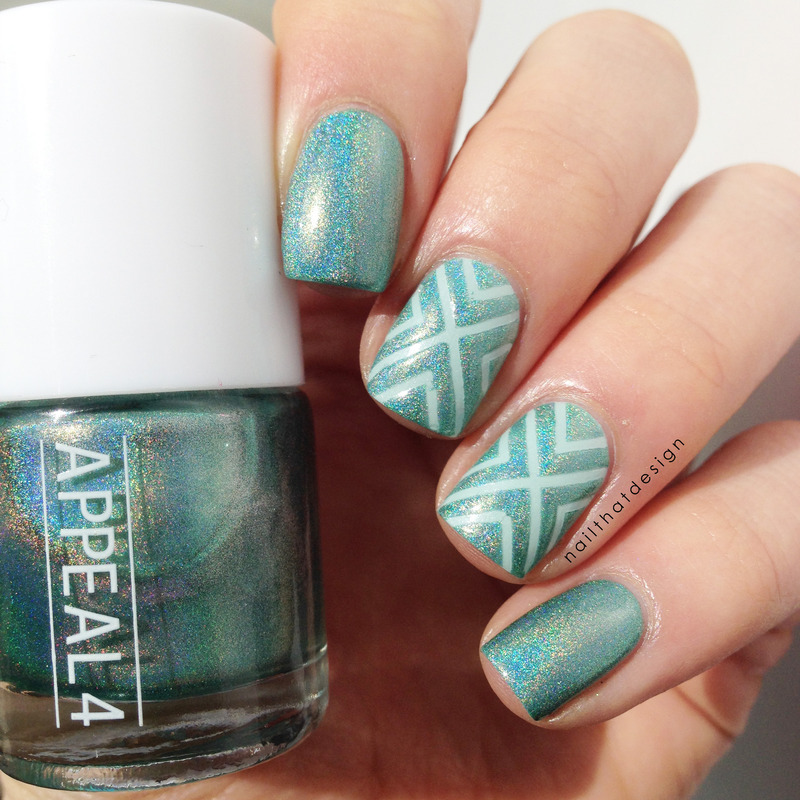 Appeal4 Tropical Reef Swatch by NailThatDesign