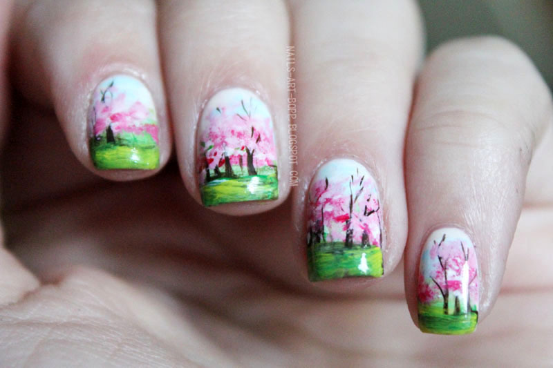 Spring nail art by bopp