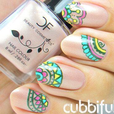 Mandala nails thumb370f