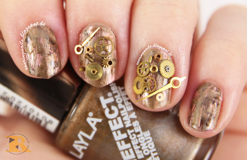 The Nerd-Geek Challenge prompt 3: Favourite TV-Show nail art by Robin