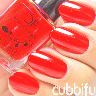 CF Cosmetics Nº4 Queen of Hearts Swatch by Cubbiful