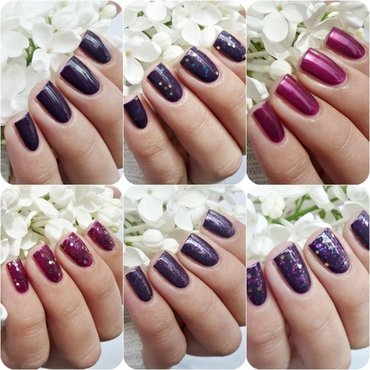 Claire's 6 Pack Berries Nail Polish Swatch by Romana