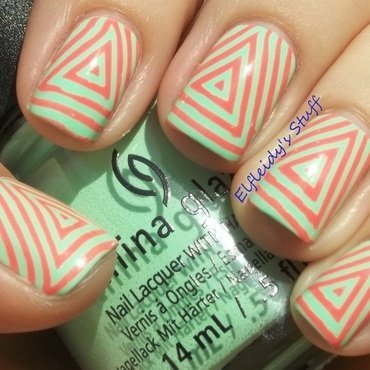 PAA Mani Monday 5-11-2015 nail art by Jenette Maitland-Tomblin