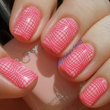 Stamping Sunday 5-10-2015 nail art by Jenette Maitland-Tomblin
