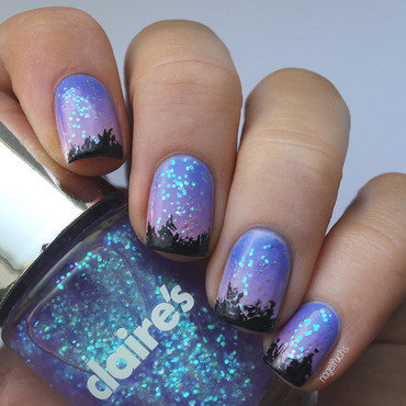 Claires Wicked Swatches And Nail Art Nailpolis Museum Of Nail Art