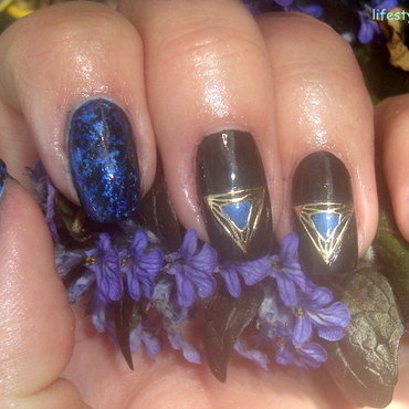 3D nail art stickers nail art by terii