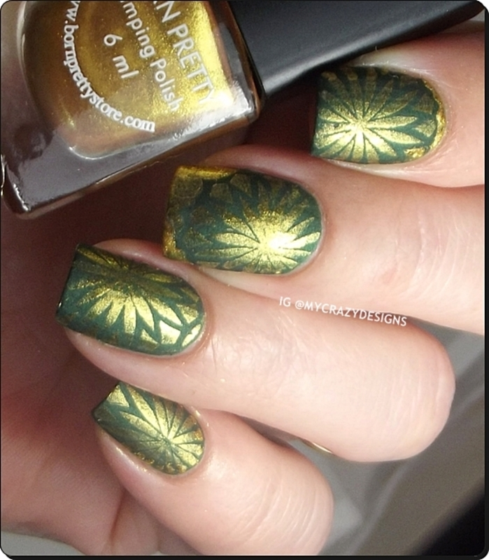 Stamping polish II nail art by Mycrazydesigns