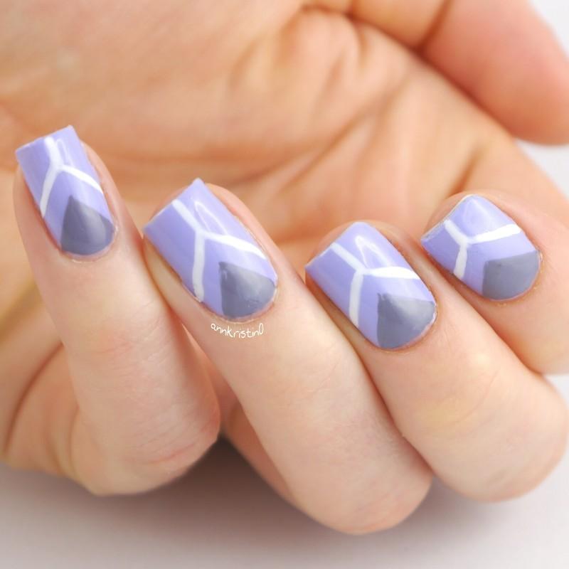 Peace! Nails nail art by Ann-Kristin