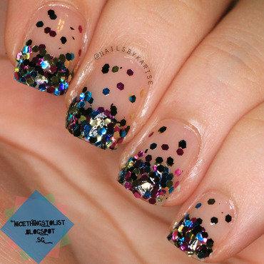 Glitter gradient mani thumb370f