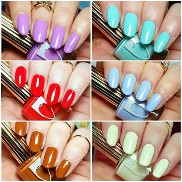 Flossgloss Collage nail art by nailicious_1