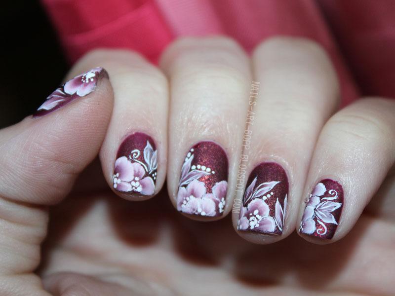 Magic flower nail art by bopp