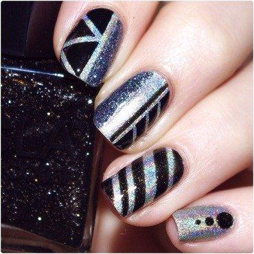 Bling! nail art by Bulleuw