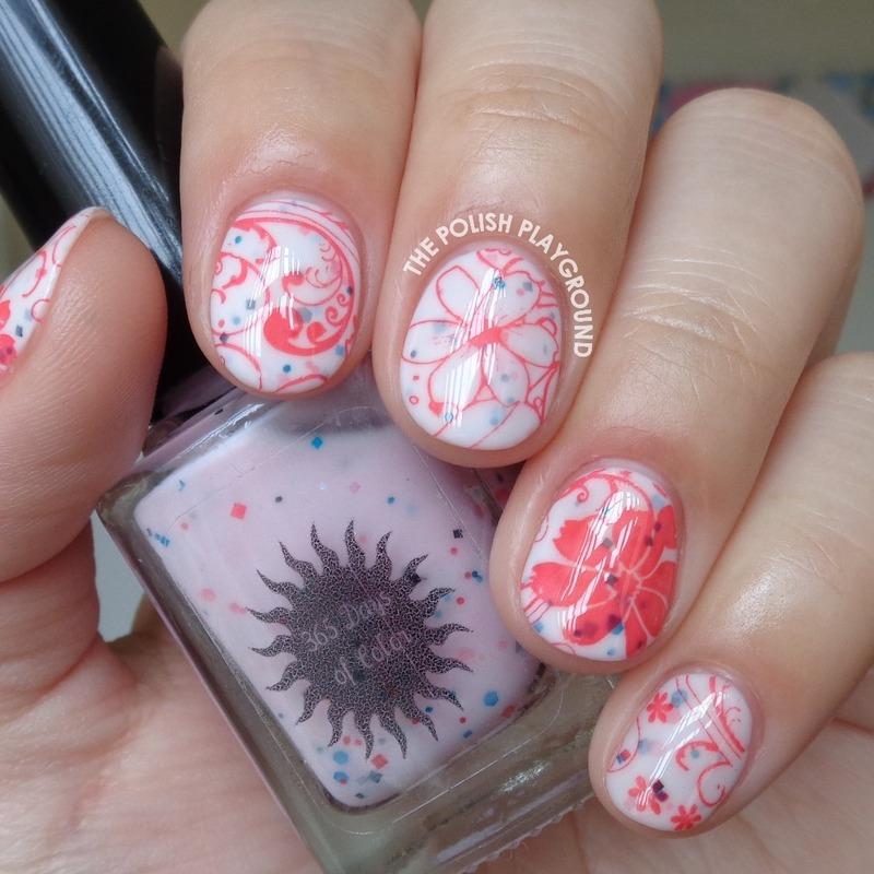 Oh So Sweet Floral Nails nail art by Lisa N