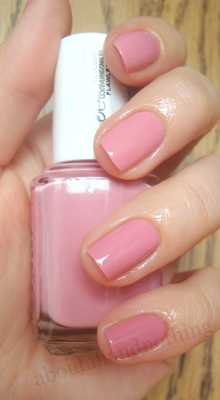 Essie Flawless Swatch by Kasia - Nailpolis: Museum of Nail Art