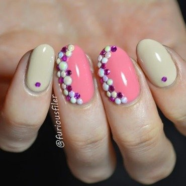 Something sweet nail art by Furious Filer