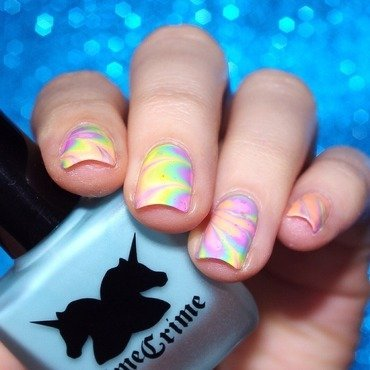 Back to seventies ! nail art by Bulleuw