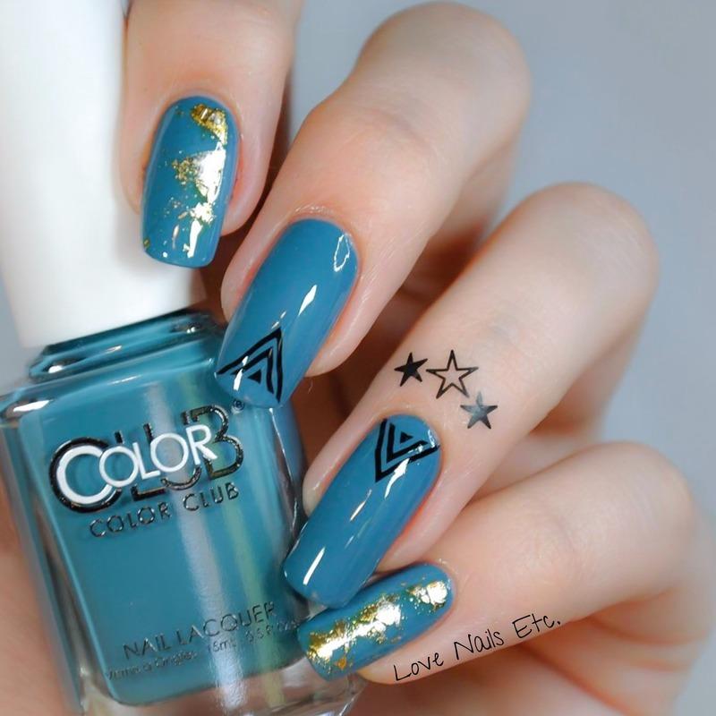 Road Trip Tattoo nail art by Love Nails Etc
