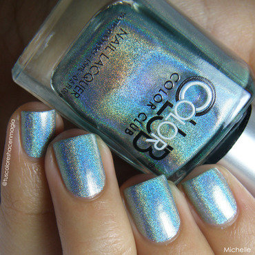 Color Club Angel Kiss Swatch by Michelle Mullett