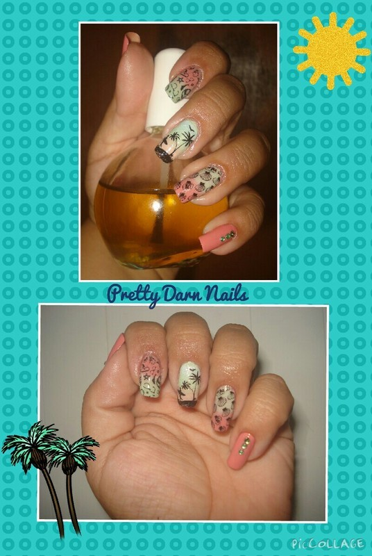 Summer Nails by PrettyDarnNails