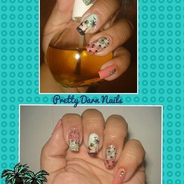 Summer Nails by PrettyDarnNails