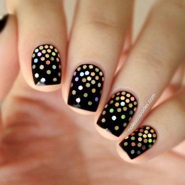 Glitter Gradient Extravaganza nail art by NAIL ESCAPADES