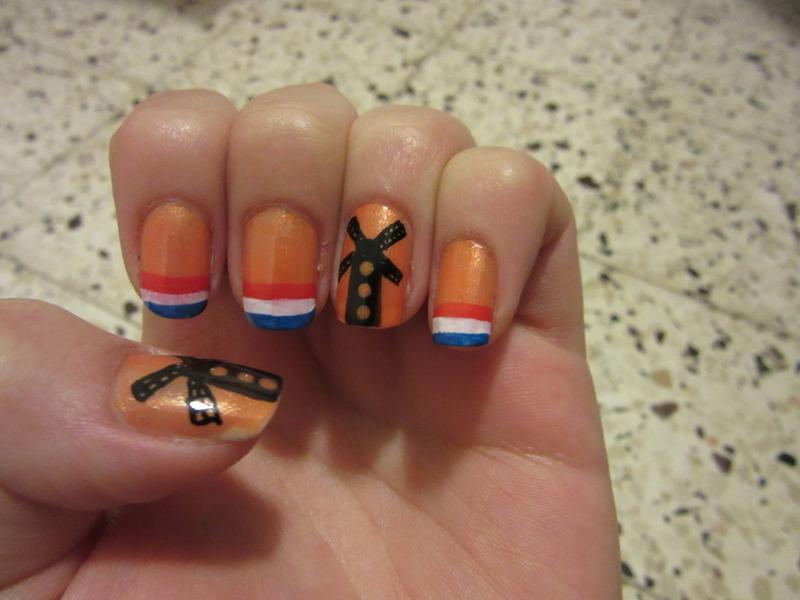 holland nail art by Maya Harran