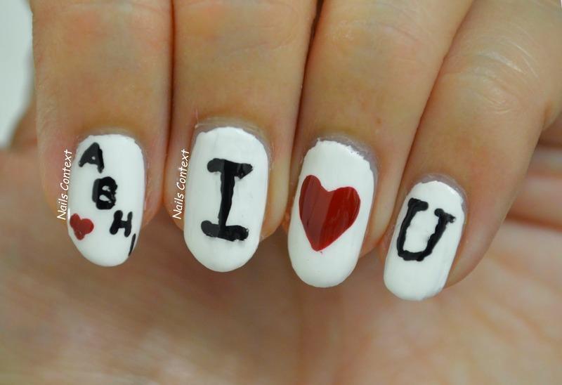 Happy Birthday HUBBY nail art by NailsContext