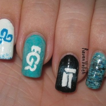 Smite Pro League Teams nail art by Lynni V.